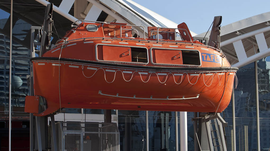 Harding Safety Lifeboat