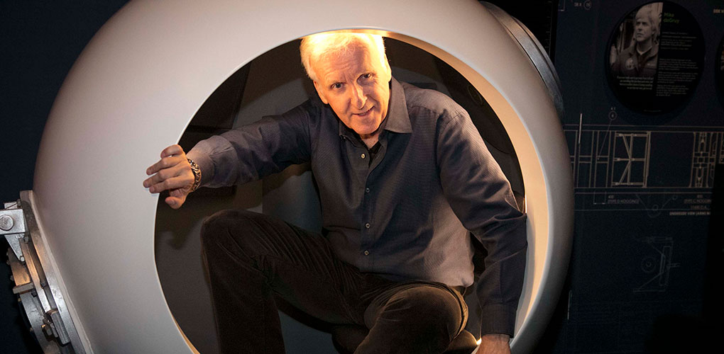 Immerse yourself in the world of James Cameron, where art, science and technology combine